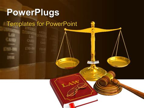 law templates for powerpoint free download powerpoint template golden weight scales code of laws