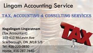 Tax Consultant Description by Lingam Accounting Service Scarborough Ontario Accounting And Tax