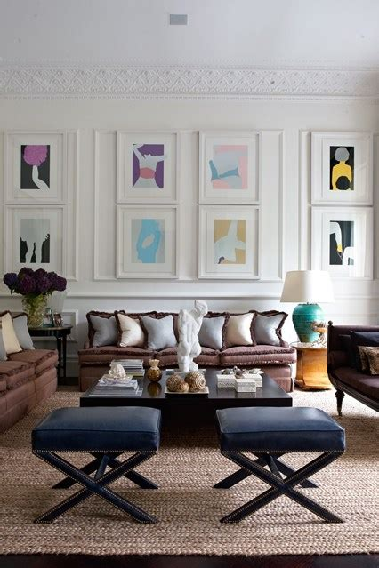 Hanging Pictures In Living Room by White Frames Hung In Panelling Hanging Pictures Creative