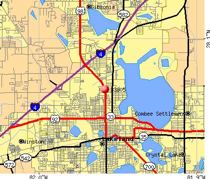 lakeland florida zip code map 33805 zip code lakeland florida profile homes