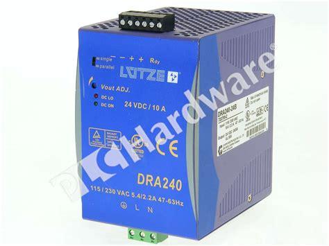 Power Supply Well Dra 60 Psu lutze dra 240 24b dra240 24 power supply 240w 24v 10a ebay