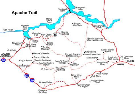 apache trail map apache trail map mesa arizona maps mesa az