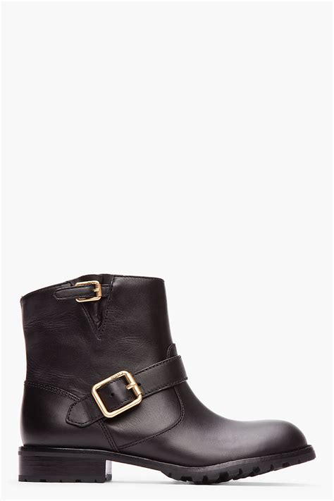 short moto boots marc by marc jacobs women s leather ankle boots ceecp
