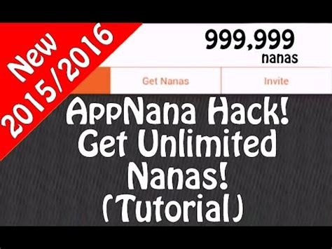 Free Gift Cards App Hack - how to get lots of nanas on app nana not a hack doovi