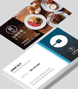 free uber business card templates uber business cards printed by printelf free templates