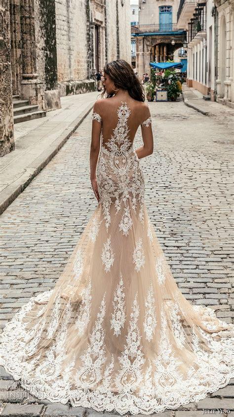 wedding dress with color julie vino fall 2018 wedding dresses crazyforus