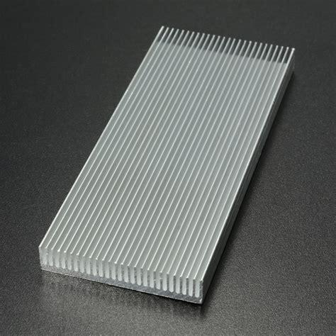 heatsink transistor 100x41x8mm aluminum heat sink heatsink cooler for high power led lifier transistor cooling