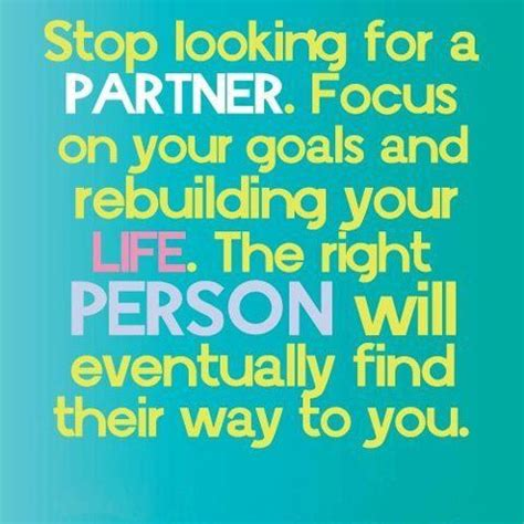 getting the right partner for you alone a guide to attract the opposite books yoddler stop looking for a partner focus on your goals