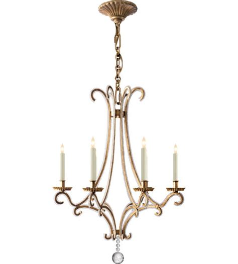 visual comfort chandelier visual comfort e f chapman oslo 6 light chandelier in