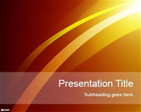 ppt themes sun sun lights powerpoint template
