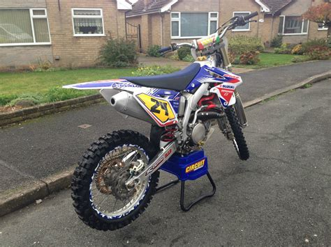 Suzuki Yzf 450 Suzuki Rmz 450 White Edition Motorcross Not Ktm Crf Yzf Or Kxf