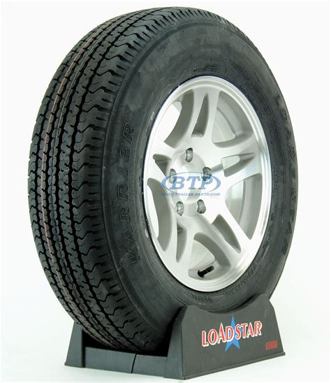 boat trailer tires and wheels boat trailer tire st205 75r15 radial on aluminum wheel 5