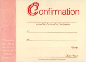 confirmation certificates templates confirmation presentation certificate pack of 25