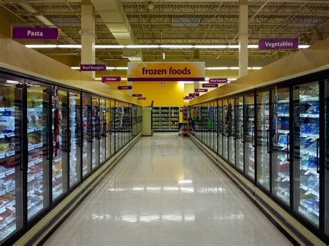 layout supermarket giant the schumin web 187 frozen aisle at giant