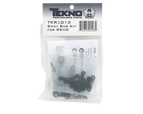 Tekno Rc Sway Bar Kit Revo Tkr1013 sway bar kit revo by tekno rc tkr1013 cars trucks