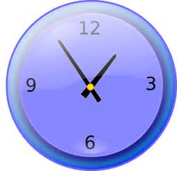 analog clock clip art free vector 4vector