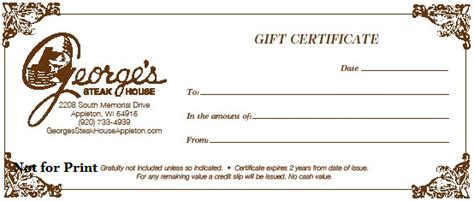 printable gym gift certificates house of prime rib gift certificate gift ftempo