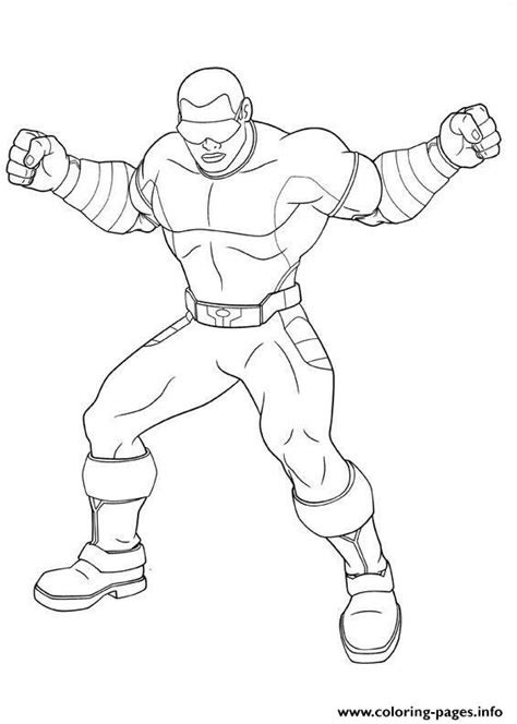 ultimate spiderman power man coloring pages printable