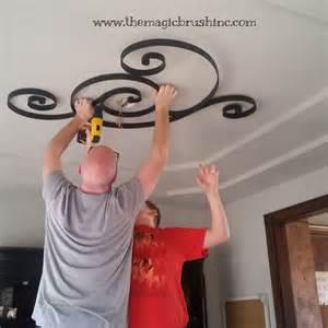 hometalk non traditional ceiling medallion