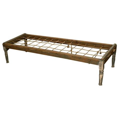 Antique Rope Bed Frame Hired Rope Bed At 1stdibs