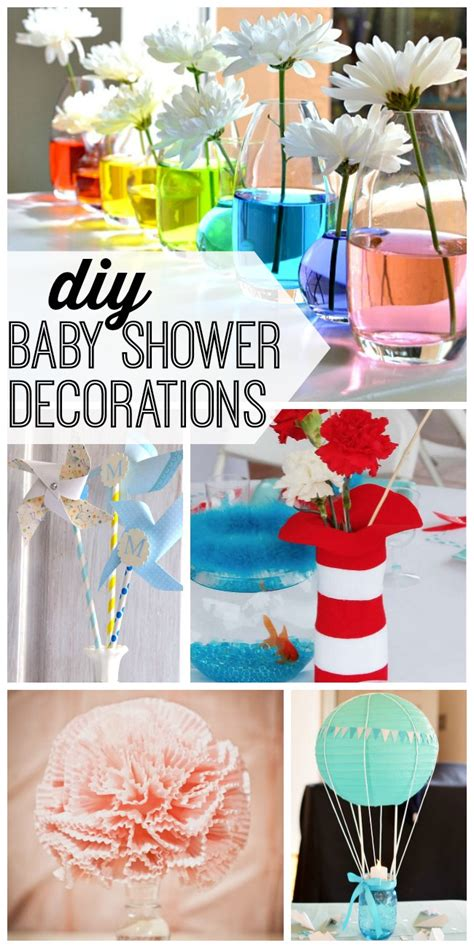 Diy Baby Shower Decorations For A by Diy Baby Shower Decorations My And