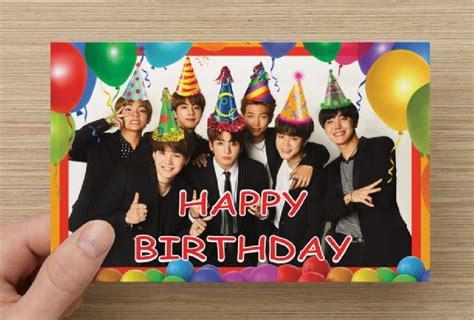 kpop theme shop bts birthday cardhappy birthdaybangtan boys