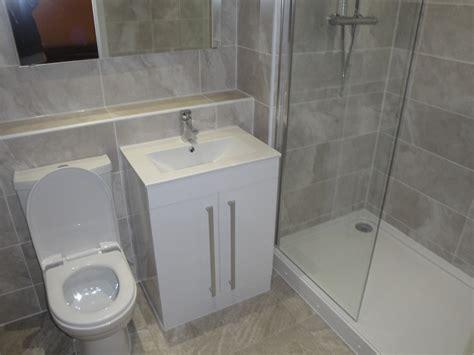 grey ensuite bathroom grey bathroom vanity 3 ensuite refitted in coventry