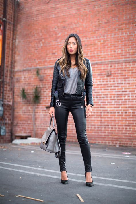 Leather Styles by 34 Ways To Wear A Leather Jacket For 2019
