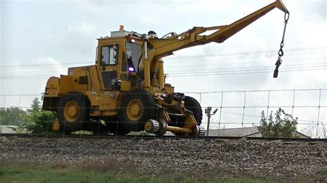 swing loader pettibone speed swing railroad wheel loader crane union