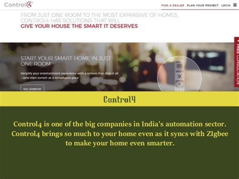 best home automation companies in india