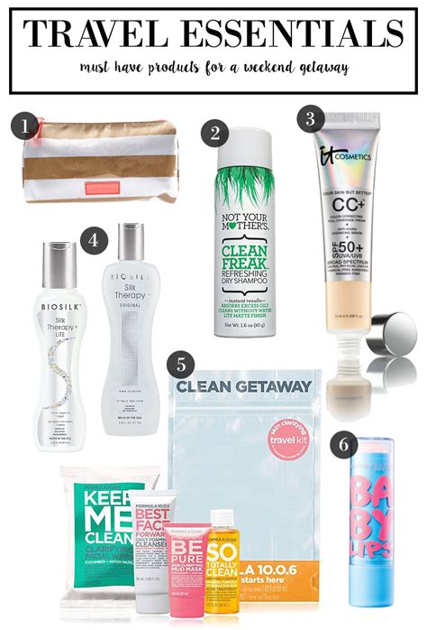 Your Summer Makeup Must Haves For 08 by 6 Travel Essentials For Your Getaway Hairspray
