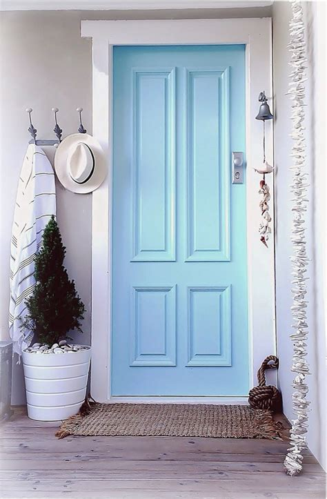 Seashell Bathroom Ideas by Beach House Coastal Cottage Front Entrance Door Decor