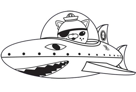 coloring page the octonauts 9