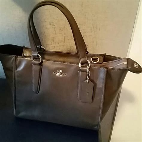 Tas Coach Crosby Carryall 61 coach handbags new coach crosby mini carryall in smooth leather from maryanne s closet