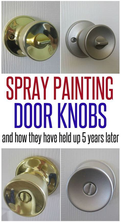 How To Spray Paint Drawer Pulls by 25 Best Ideas About Paint Door Knobs On
