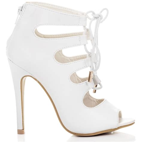 white sandals shoes from spylovebuy