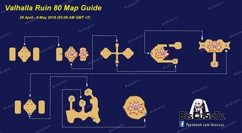 map guild valhalla ruin ragnarok  mobile eternal love