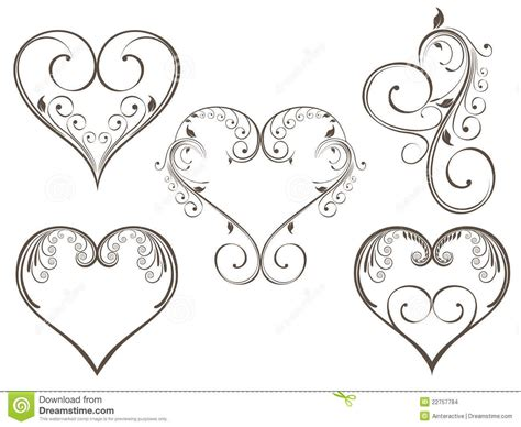 heart and scroll tattoo designs floral scrolls 22757784 jpg 1300 215 1065 swish
