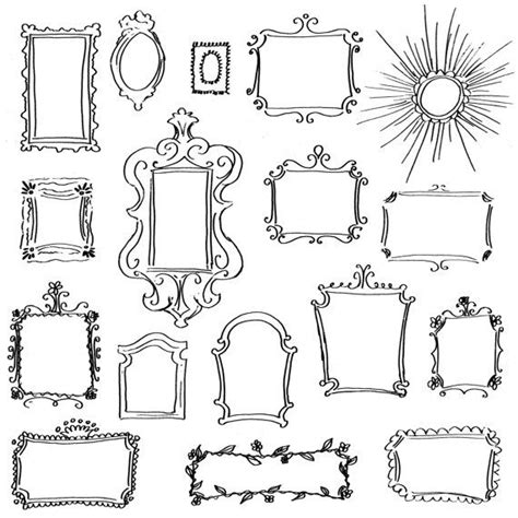 create doodle free best 25 doodle frames ideas on