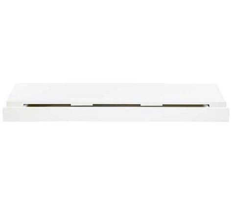 etagere 80 cm etag 232 re murale l 80 cm duraline blanc laqu 233 1 tiroir