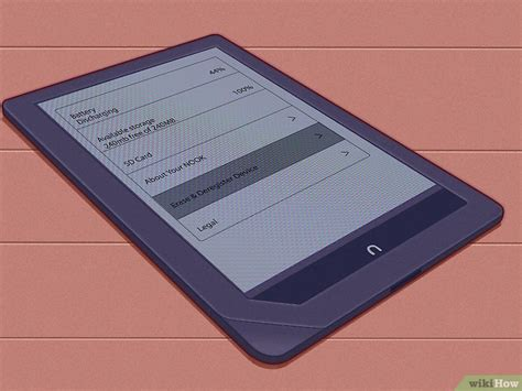 how to reset a nook color 4 modi per resettare un nook wikihow