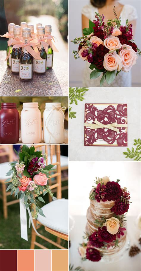 color combinations 2017 the top 8 wedding colors combinations trends for