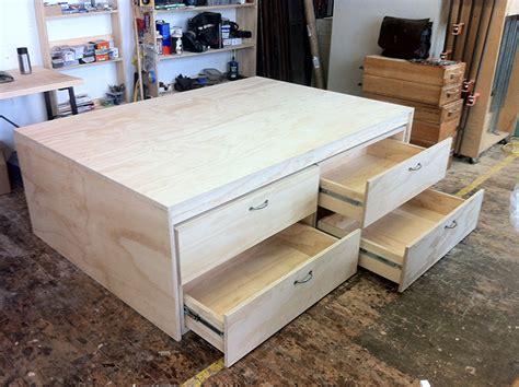 plywood platform bed making a platform bed with plywood image mag