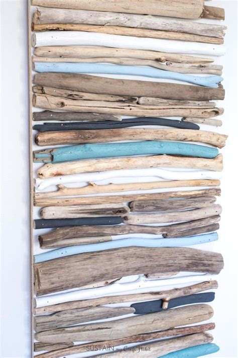 cheap coastal decor diy coastal decor painted driftwood wall driftwood