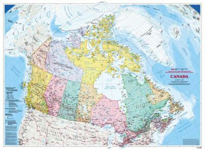 canada map wallpaper  panels  canada map