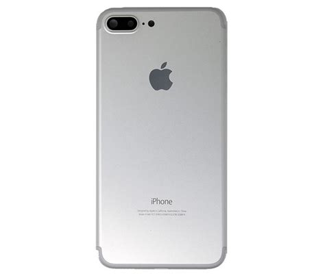 iphone 7 plus back housing replacement silver
