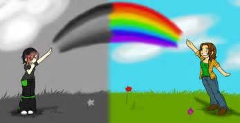 Black and white rainbow by xxsharpest livesxx on deviantart