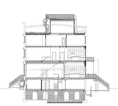 residential building section alt carroll gardens