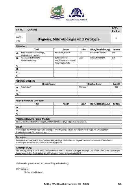Bellevue Mba 655 Quantitative by Syllabi Mba Msc Dr Phd