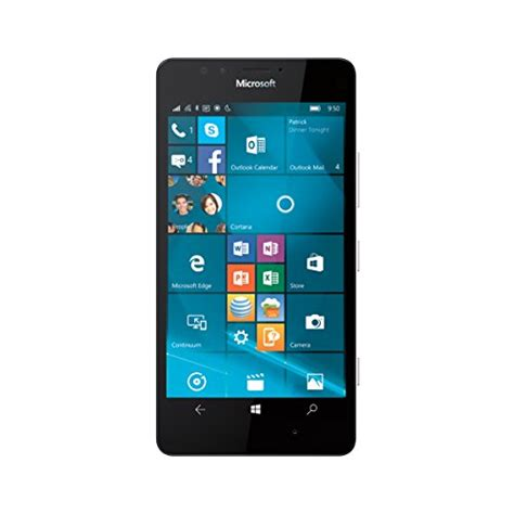 Nokia Microsoft Lumia 950 nokia lumia 950 white 32gb at t your 1 source for mobile phones mp3 players accessories